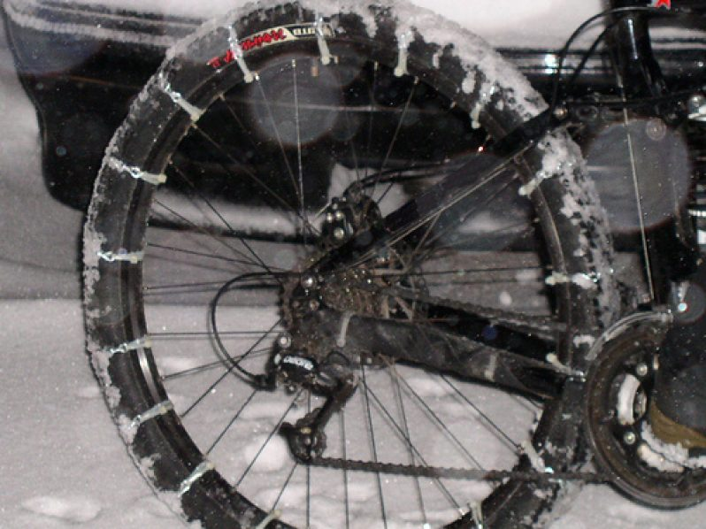 Bicicletta Da Neve