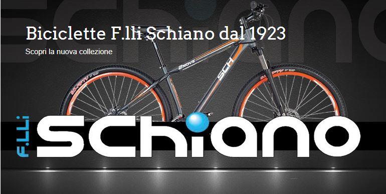 Si amplia l'offerte di biciclette del gruppo Schiano