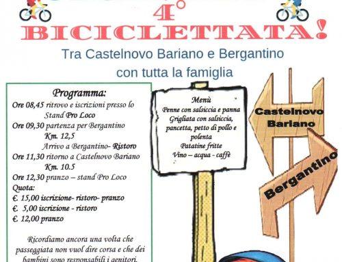 Domenica 19 Maggio, biciclettata tra Castelnovo Bariano e Bergantino (Rovigo)