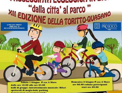 Passeggiata in bicicletta Toritto – Quasano (Bari)