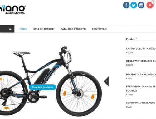 Nasce SchianoStore.com: lo shop online di biciclette del Gruppo Schiano