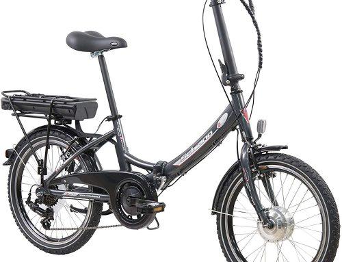 Bici elettrica pieghevole E-Star: tanta tecnologia, piccolo spazio