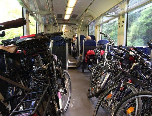 Portare la bici in treno: ecco come fare