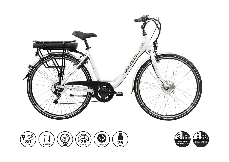 Bici elettrica E-moon 28